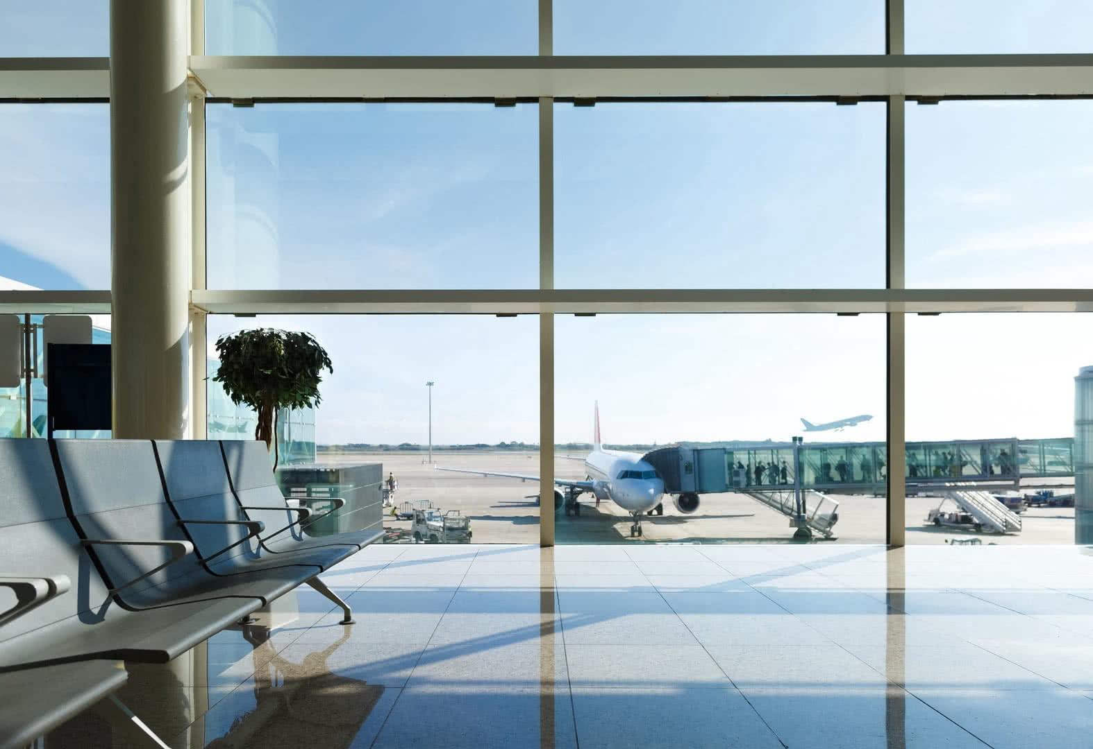 Seguridad en aeropuerto