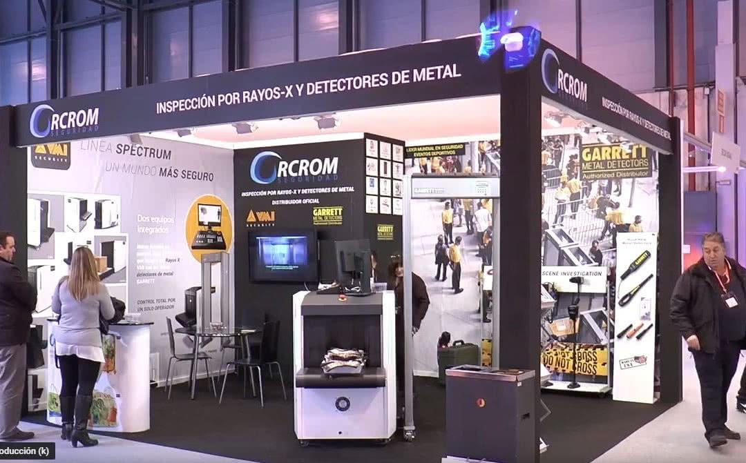 Inspección por Rayos X y Detectores de Metal (Sicur 2018 Madrid)