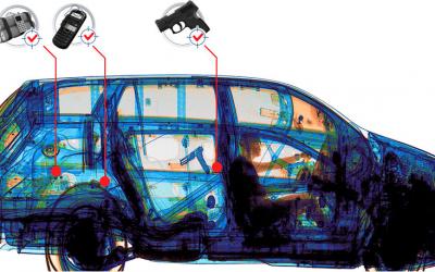 Los equipos de rayos X en la inspección de vehículos