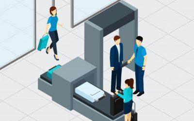 ¿Cómo funciona la inspección de equipajes en un aeropuerto?