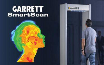 Arcos detectores de metales con control de temperatura corporal para garantizar la seguridad